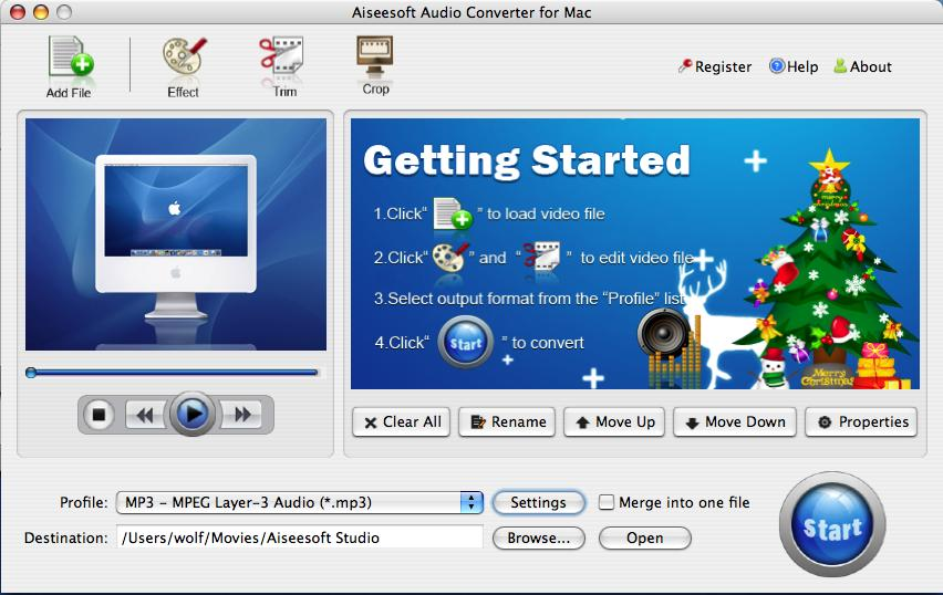 Video to Audio Converter for Mac