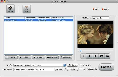 Video to Aiff for Mac