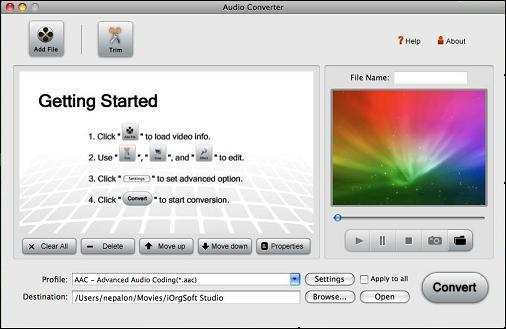 Video to MP2 for Mac